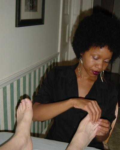 What she learned about her health from her feet
