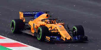 Mclaren F1 in the wet