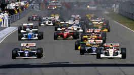 Vintage Formula 1 race