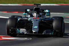 Mercedes F1 Hamilton