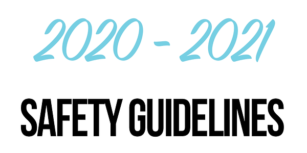 20202021 dance season safety guidelines.