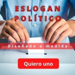Diseño de ESLOGAN Político