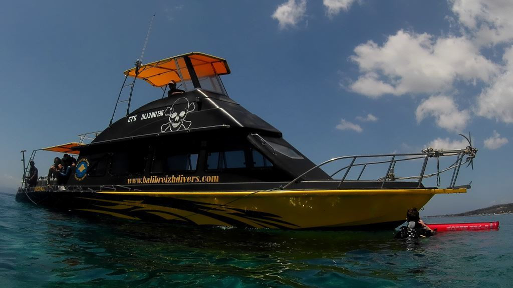 BALI BREIZH DIVERS' boat