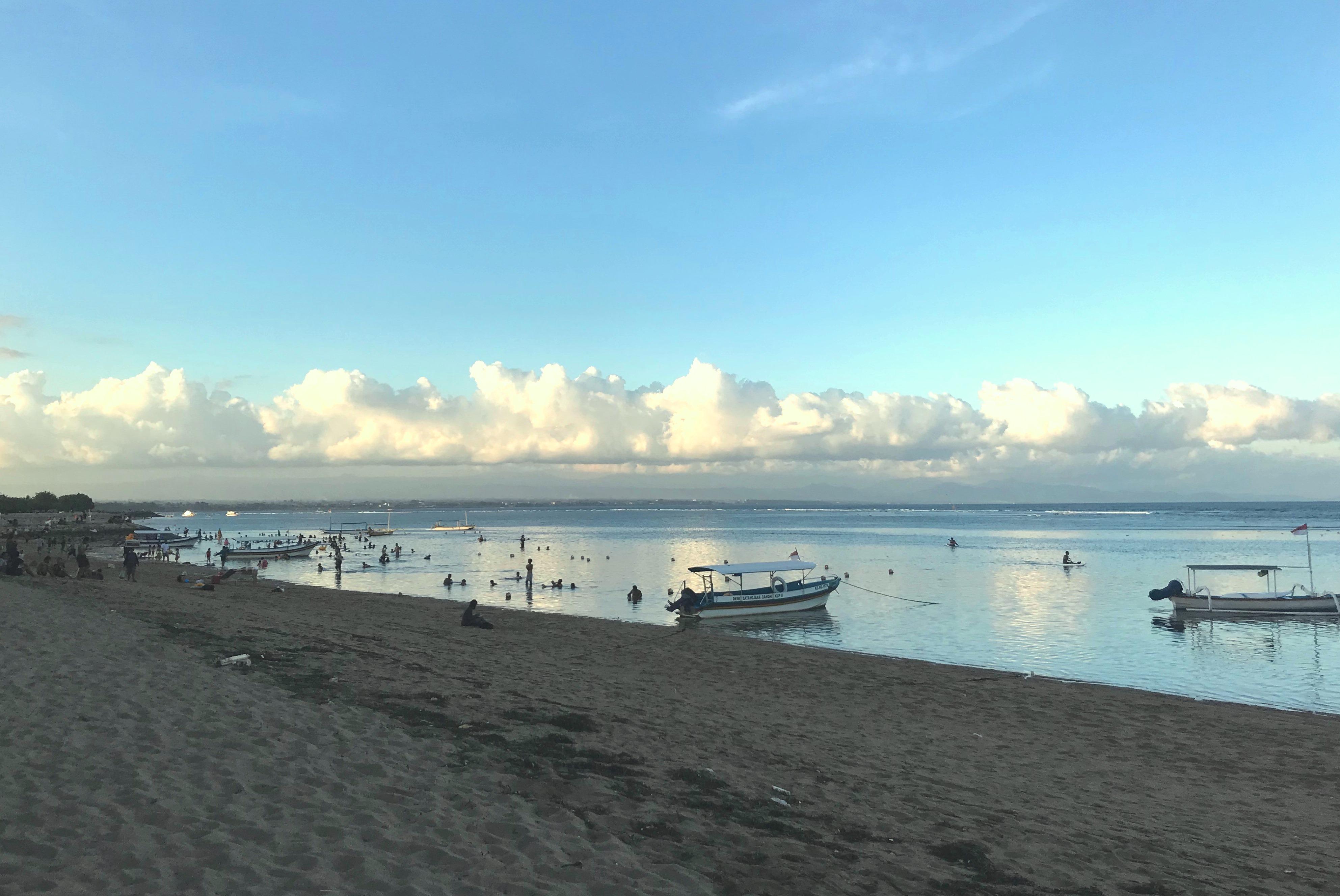 Sanur beach, Plage de Sanur