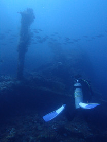 Tulamben wreck - Plongée à Tulamben