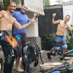 Enjoy our family atmosphere in our dive center!