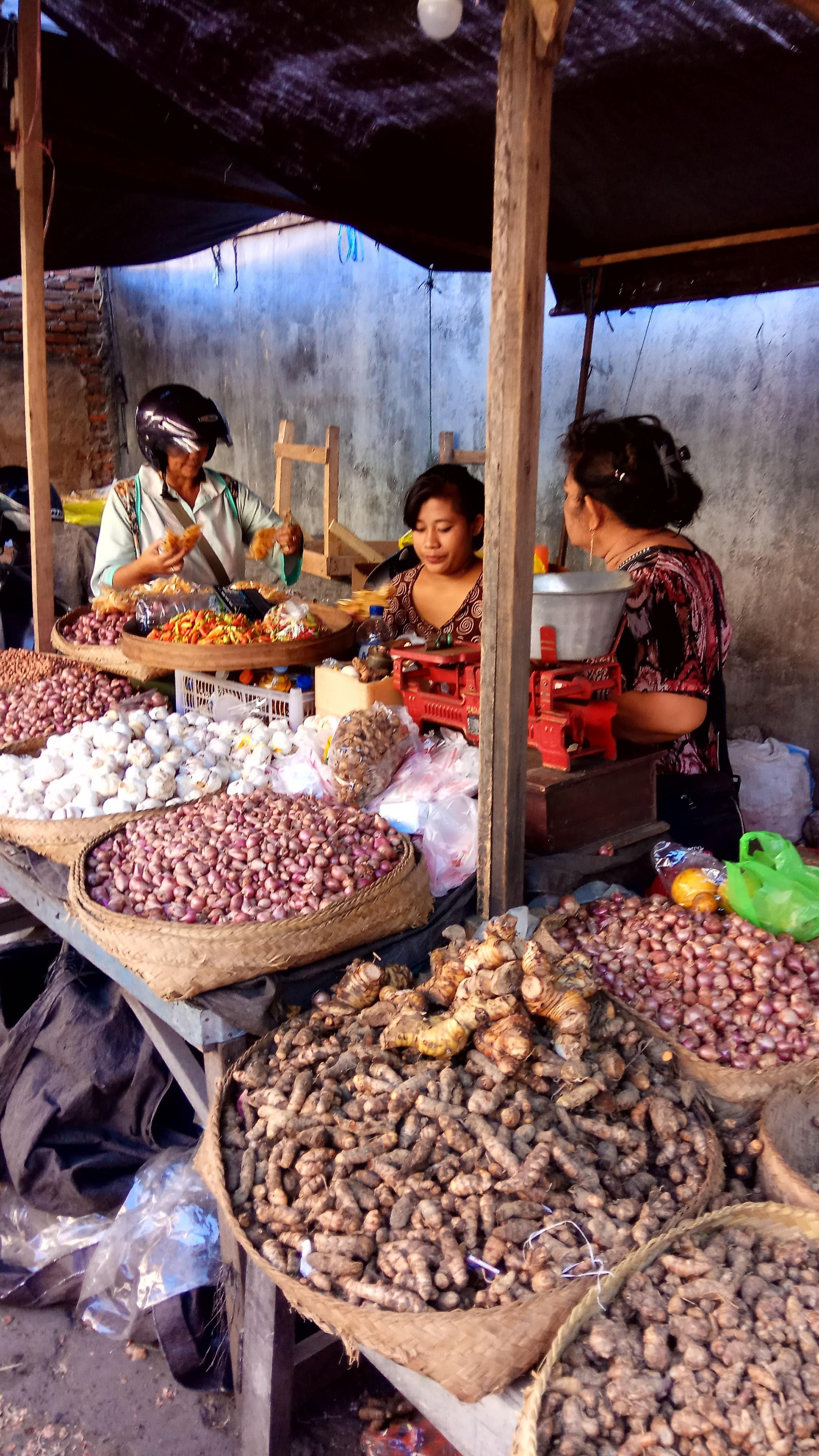 Bali Market, Marché typique