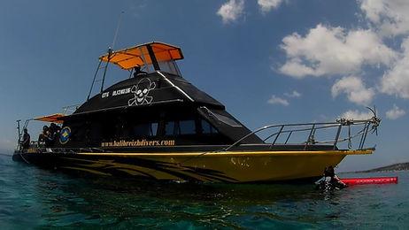 Diving Boat Bali, Bal breizh divers
