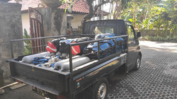 diving equipment and pick up bali breizh divers