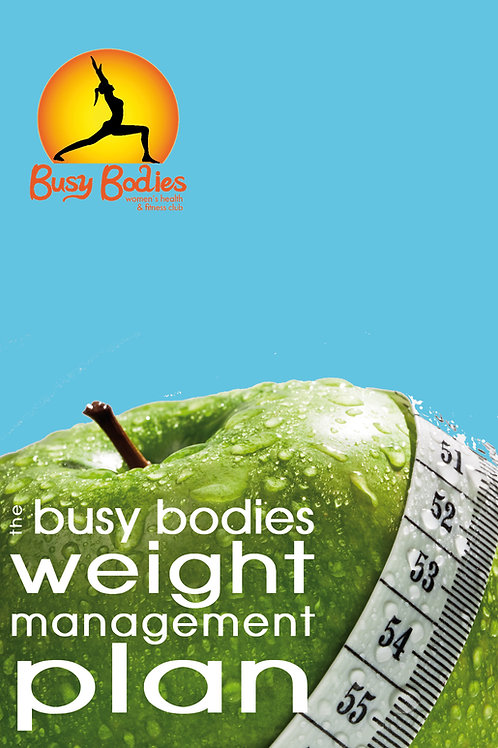 Busy Bodies Nutritional Plan