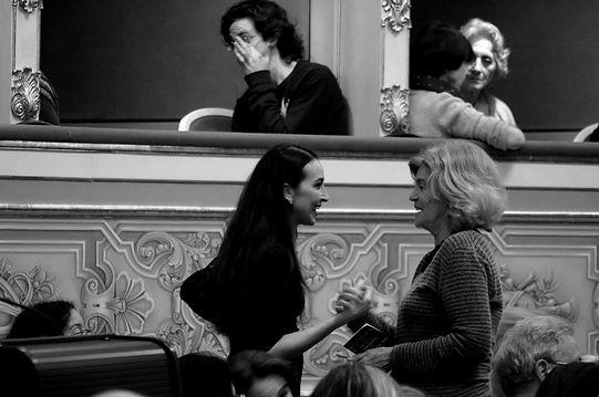 Mariachiara Michieli, maestro di tango, Scuola Tangueros, Milano, lezioni di tango, corsi di tango, scuole di tango, Nueva Compañia Tangueros, Trio Esquina, César Stroscio, Osvaldo Pugliese, Teatro La Fenice