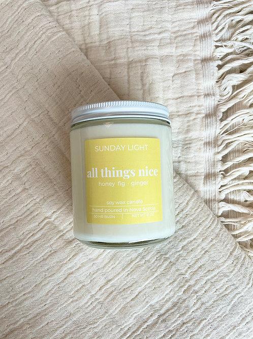 all things nice | honey  fig + ginger