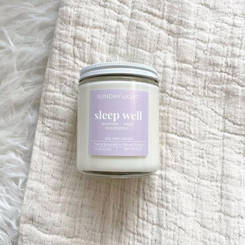 sleep well | lavender + eucalyptus + sage