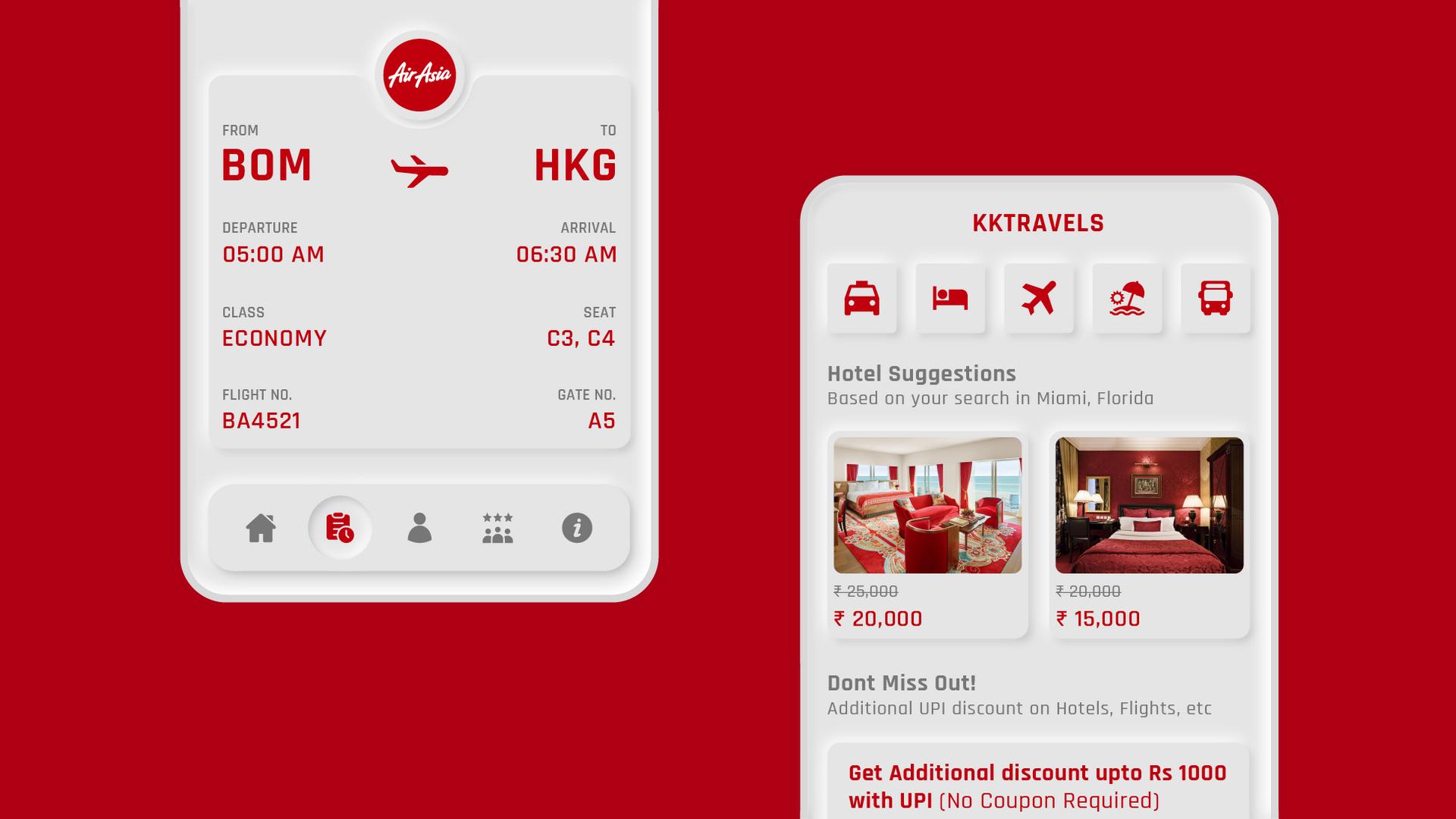KK TRAVELS | USER EXPERIENCE DESIGN