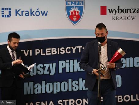 Paulina Tomasiak wyróżniona obok Sławomira Peszko i Mateusza Wdowiaka.