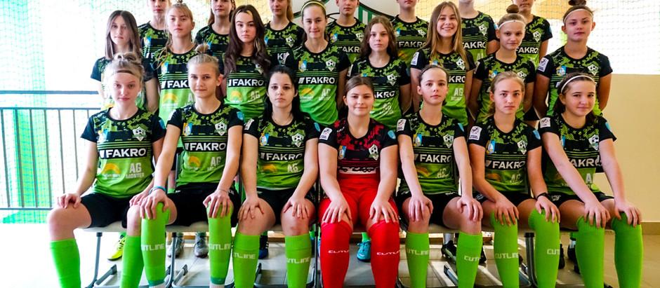 Kadra Centralnej Ligi Juniorek U-15 zaprezentowana.