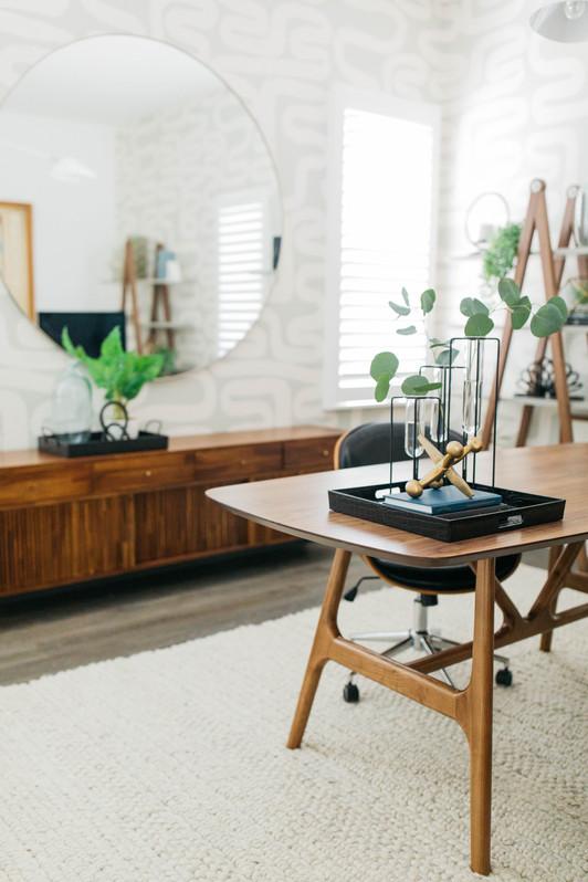 Tolbert's Home Office   Realm Design Co. San Diego, CA   Photographer Halli MaKennah