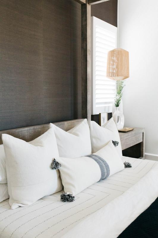 Jade + Tanner's Master Bedroom   Realm Design Co. San Diego, CA   Photographer Halli MaKennah