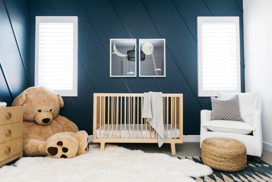 Baby Brooks' Nursery | Realm Design Co. San Diego, CA | Photographer Halli MaKennah