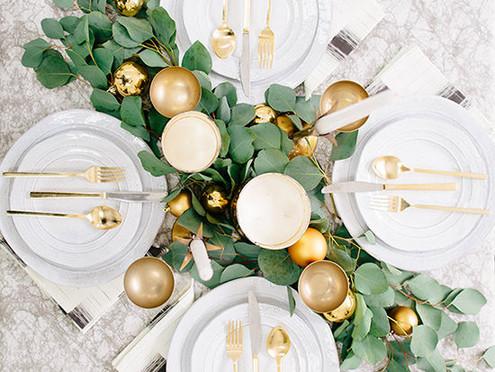 Pretty Tables + Yummy Food