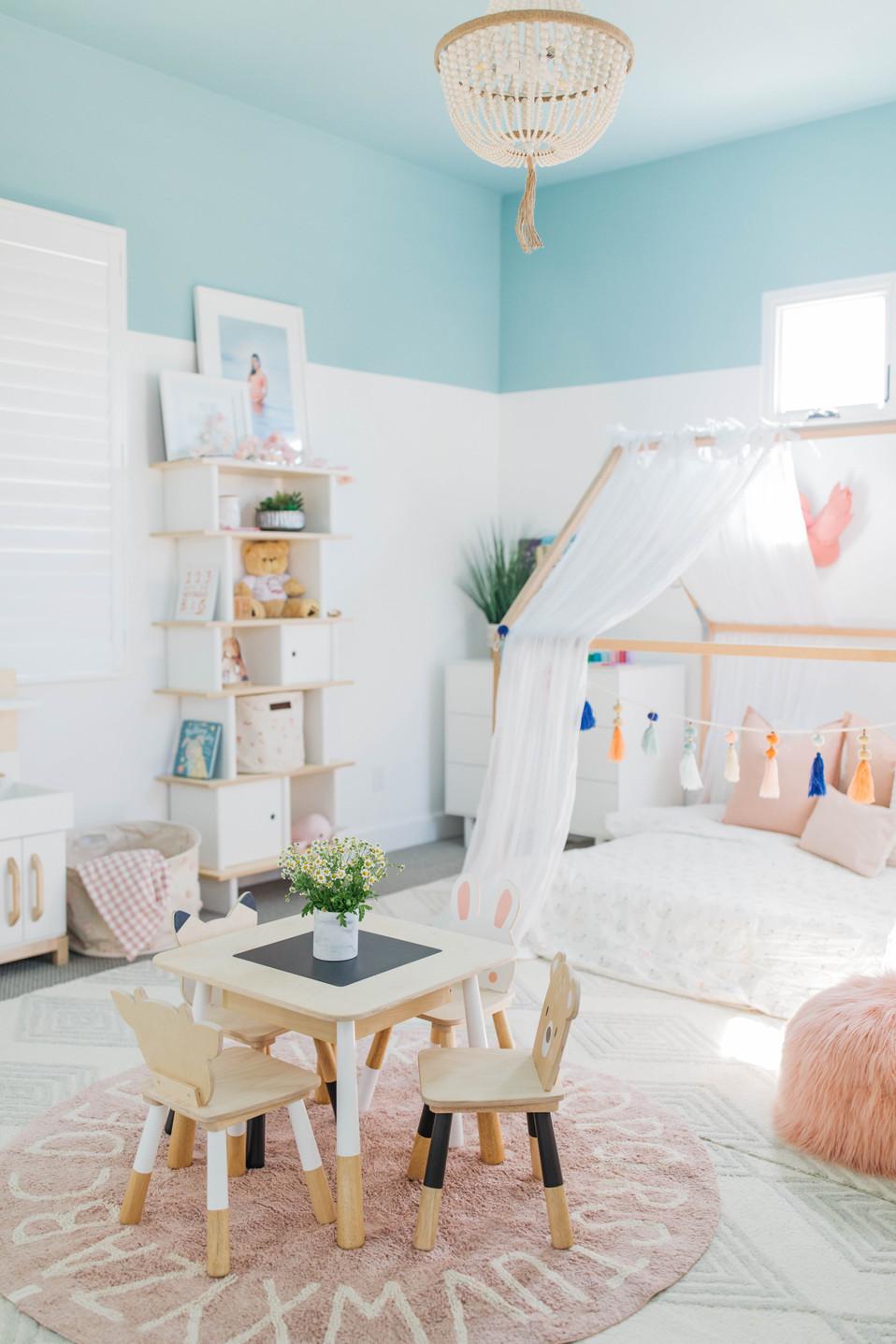 Emmy's Bedroom Wonderland   Realm Design Co. San Diego, CA   Photographer Halli MaKennah