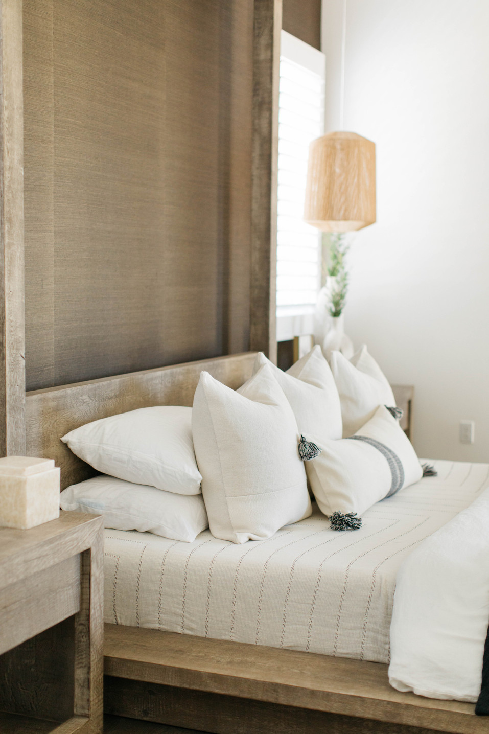Jade + Tanner's Master Bedroom | Realm Design Co. San Diego, CA | Photographer Halli MaKennah