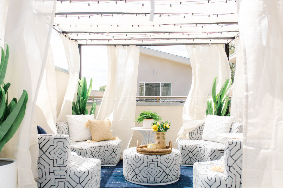 Becca Tilley's Rooftop Patio   Realm Design Co. San Diego, CA   Photographer Sophie McPhail