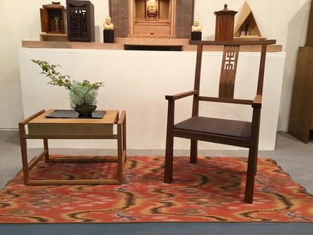 KAGUメッセにて新しい椅子を紹介しました。