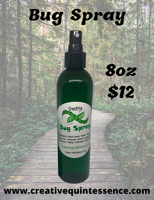 8oz Bug Spray