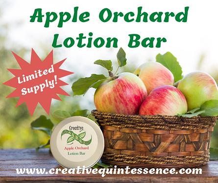 Apple Orchard Regular Lotion Bar