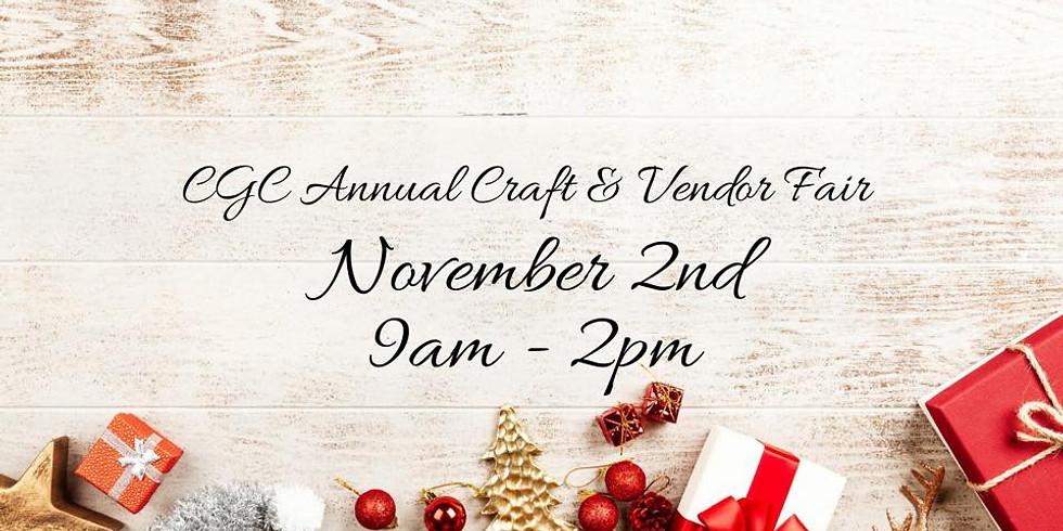 CGC Annual Craft and Vendor Fair
