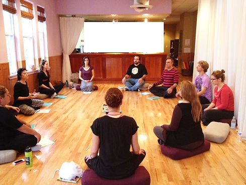 meditation session in new york by nomi bachar