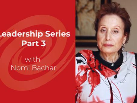 Leadership Series – Part 3