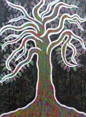 Seelenbild Neon-Baum