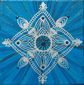 Mandala Meerjungfrau-Traum