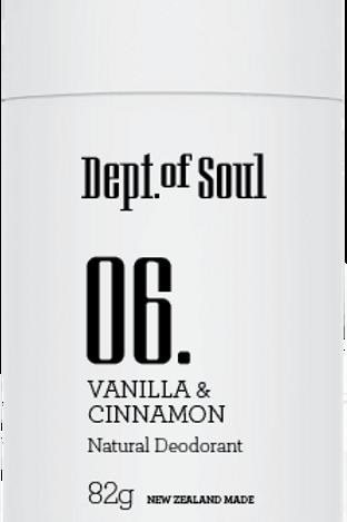 100 % Natural Deodorant Stick (Vanilla & Cinnamon) 100% 天然止汗膏 (雲妮拿味)