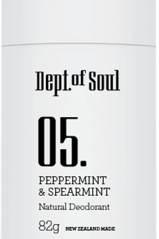 100 % Natural Deodorant Stick (Peppermint & Spearmint) 100% 天然止汗膏 (薄荷味)