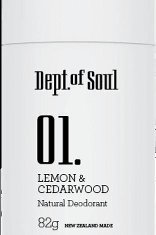 100 % Natural Deodorant Stick (Lemon & Cedarwood) 100% 天然止汗膏 (檸檬味)
