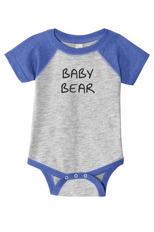 """Raglan Onsie with """"Baby Bear"""""""