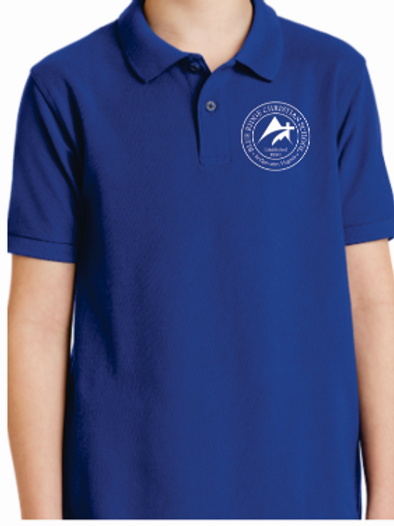 Youth Embroidered Port Authority Polo