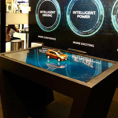 Nissan Intelligent Mobility Table Top Animations
