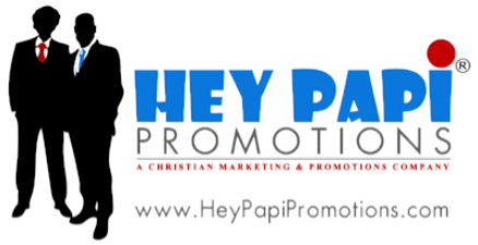 Hey Papi Promotions Network Logo With We