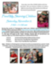 Feed My Starving Children flyer 2019 for