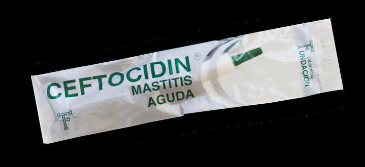 Antibiótico intrauterino contra la mastitis aguda
