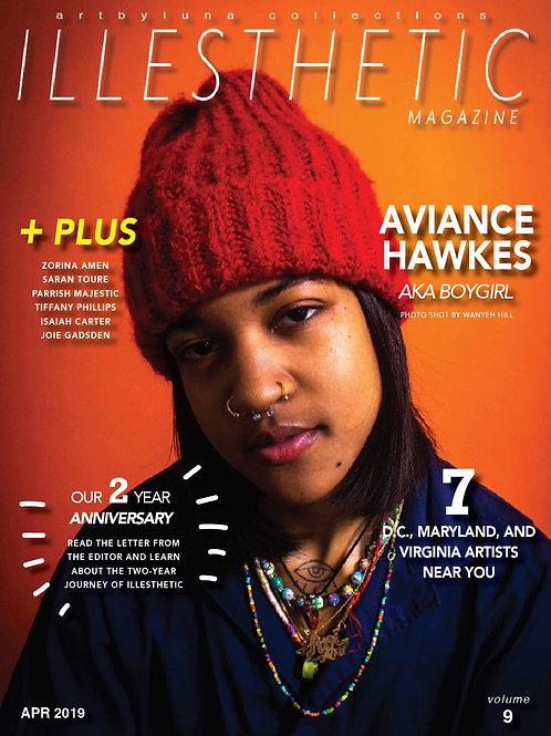 Volume 9 ILLESTHETIC Magazine (hardcopy)