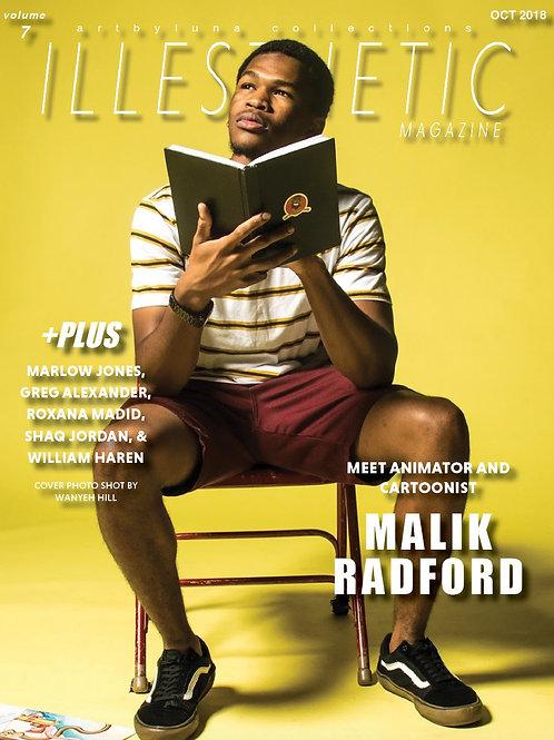 Volume 7 ILLESTHETIC Magazine (hardcopy)