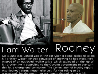 Are you Walter Rodney?