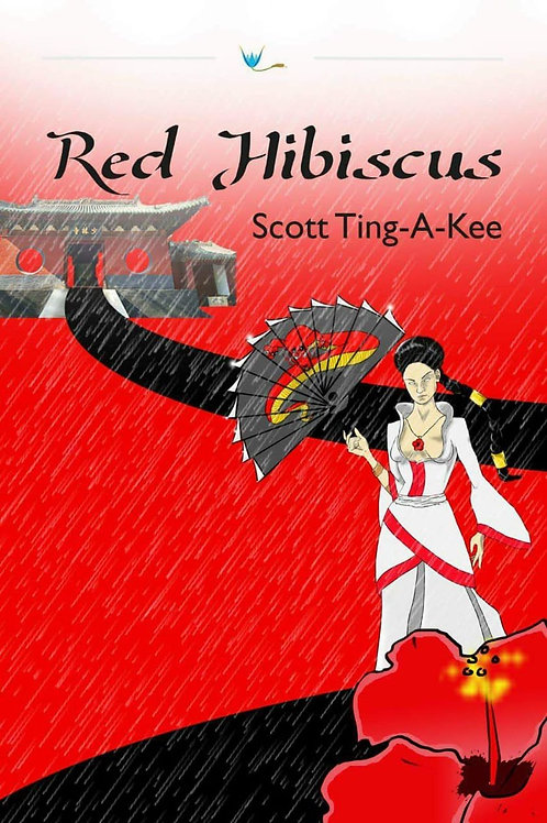 Red Hibiscus by Scott Ting-A-Kee