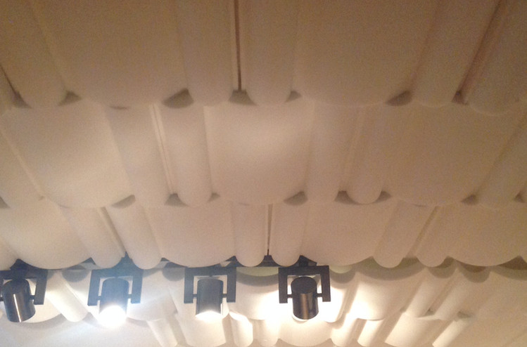 treated ceiling