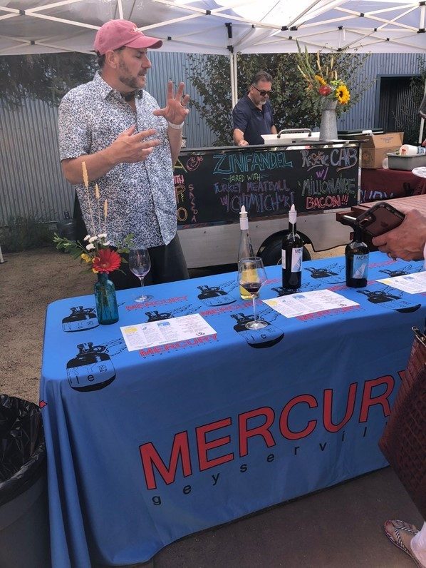Image Mercury Wines via Wine By Appointment LLC